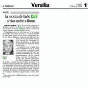 Il Tirreno 27 Aprile 2009